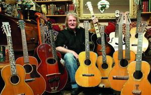 Paul Brett039s Guitar Collection