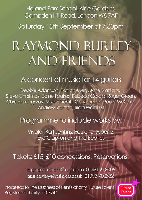 Raymond Burley and Friends