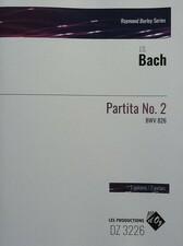 cover of Bach - Partita no.2 BWV826