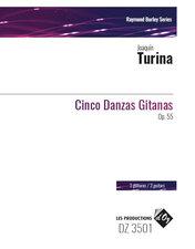 cover of Turina: Cinco Danzas Gitanas op.55