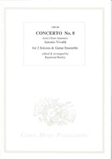 cover of VIVALDI Concerto No.8 from 'L'Estro Armonico' (RV522)