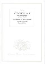 cover of VIVALDI Concerto No.8 from 'L'Estro Armonico' (RV522)