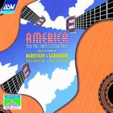 cover of America. Pro Arte Guitar Trio