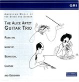 cover of American Music Of The Stage & Screen. Alice Artzt Guitar Trio