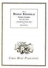 cover of Granados: Danzas Españolas set 3