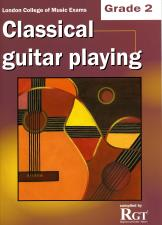 cover of Classical Guitar Playing Grade 2