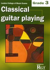 cover of Classical Guitar Playing Grade 3