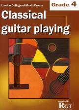 cover of Classical Guitar Playing Grade 4