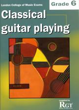 cover of  Classical Guitar Playing Grade 6