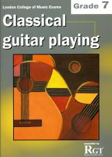 cover of Classical Guitar Playing Grade 7
