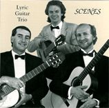 cover of Scenes. Lyric Guitar Trio