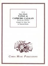 cover of Albéniz: Tango and Capricho Catalan
