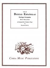 cover of Granados: Danzas Españolas set 2