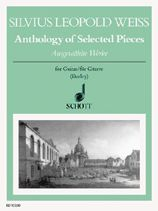 cover of Weiss: Anthology of selected pieces