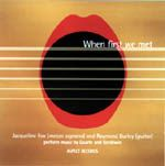 cover of When First We Met. With Jacqueline Fox