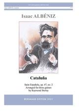 cover of Albéniz: Cataluña op.47, no.2