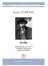 cover of Albéniz: Sevilla op.47, no.3