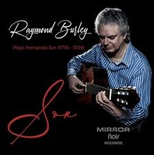 cover of Raymond Burley plays the music of Fernando Sor