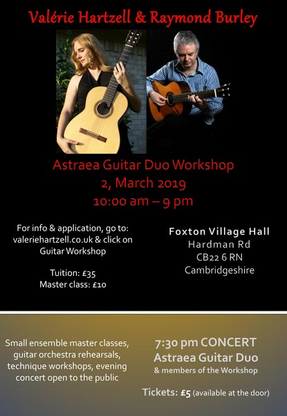 Astraea Guitar Duo Workshop