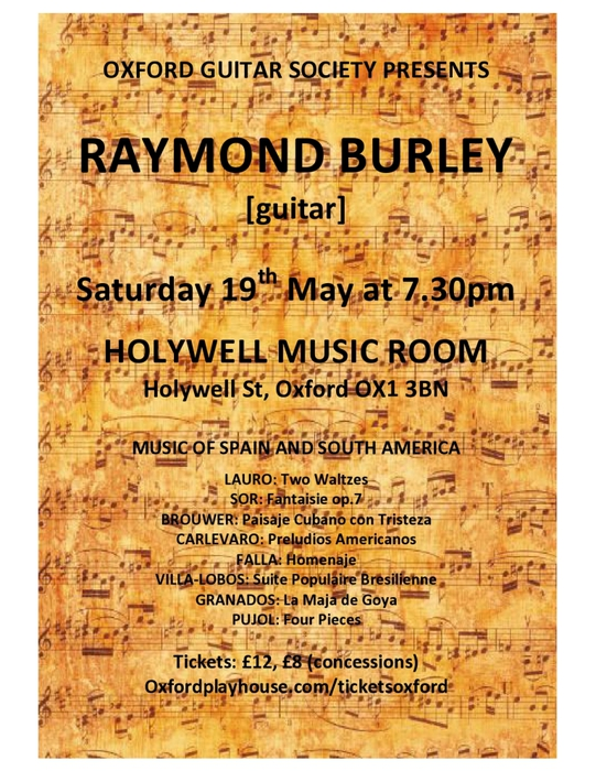 Holywell Music Room 19th May