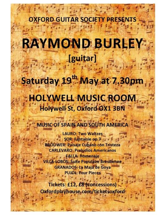 Holywell Music Room 19th May