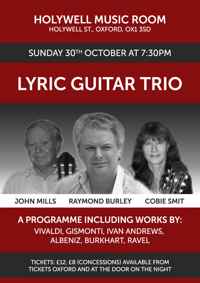 Lyric Trio at the Holywell Music Room