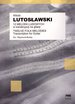 Witold Lutoslawski  Twelve Folk Melodies
