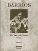 Barrios 18 Concert Pieces VOL 1